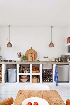 Concrete in the Kitchen: 15 Gorgeous Examples   Apartment Therapy