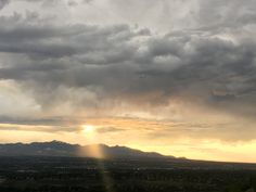 Salt Lake Valley sunset