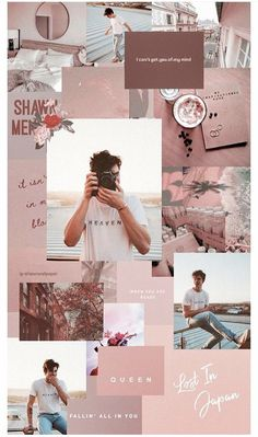 Listen to every Shawn Mendes track @ Iomoio Trendy Wallpaper, Aesthetic Pastel Wallpaper, Pink Wallpaper, Aesthetic Backgrounds, Cute Wallpapers, Aesthetic Wallpapers, Wallpaper Lockscreen, Wallpaper Backgrounds, Phone Backgrounds