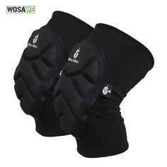 WOSAWE Two Pieces Kneepad Skiing Goalkeeper Soccer Football Volleyball Extreme Sports knee pads Protect Cycling Knee Protector