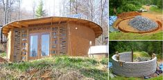 An Earthbag Round House For Less Than $5,000