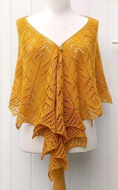 Knit Shawls, Knitting, Clothes, Knitting Needles, Tejidos, Mustard, Cashmere Wool, Gentleness, Wool