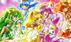 Glitter Force disponible en Netflix