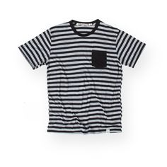 Iron and Resin - Skinner Striped Pocket T-Shirt