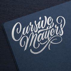 Cursive Matters by hamrick