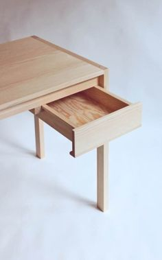 Desk is a minimalist design created by Germany-based designer Sebastian Erazo Fischer. The final treatment of surfaces consist on a mix of natural oils and waxes . (4)