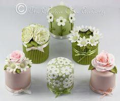 The Creative Cake Academy: THE CREATIVE CAKE ACADEMY - MINI CAKES - THE FLOWER COLLECTION