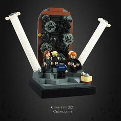 Harry Potter and the Deathly Hallows 18 – The Lestrange's Vault Legos, Lego Hogwarts, Harry Potter Set, Lego Room, Cool Lego, Awesome Lego, Lego Worlds, Everything Is Awesome, Weird Creatures