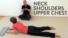 Freedom for stiff shoulders, neck and upper back Feldenkrais Method, Stiff Shoulder, Back Exercises, Stretches, Emotional Healing, Neck Pain, Pain Relief, Natural Health, Feel Good