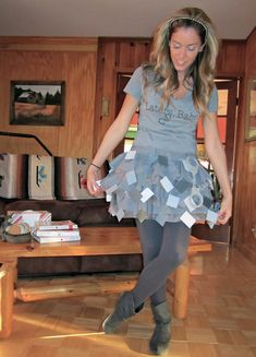 Halloween DIY: 50 Shades of Grey Costume