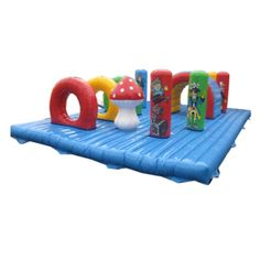 Airquee AQ2417 pirate mattress inflatable play beds, www.airquee.co.uk