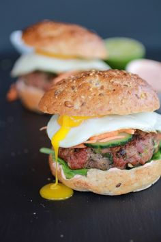 Banh Mi - Asian flavors and delicious twist on traditional Burgers - Half Baked Harvest