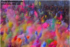 colors of india   Holi festival India. Visit India
