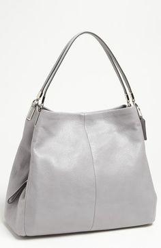 COACH 'Madison - Phoebe' Leather Shoulder Bag | Nordstrom