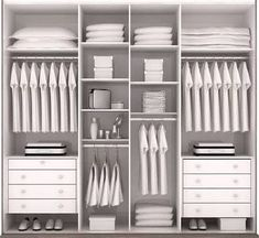 Discover recipes, home ideas, style inspiration and other ideas to try. Closet Interior, Bedroom Closet Storage, Bedroom Closet Design, Bathroom Closet, Closet Designs, Interior Design Living Room, Bedroom Wardrobe, Wardrobe Closet, Built In Wardrobe