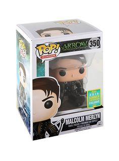 Funko Pop - Arrow - Malcolm Merlyn (2016 Summer Convention Exclusive)