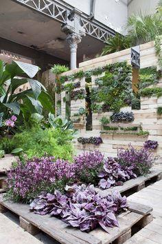 Palets para jardín y terraza