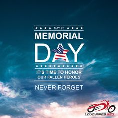 It's time to Honor our Fallen Heroes. Happy Memorial Day from all of us at Lone Star Pro Services!