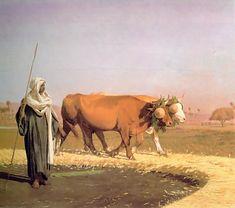 Jean-Leon Gerome (Jean Leon Gerome): Treading out the Grain in Egypt
