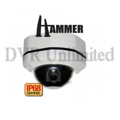 DT-602V HAMMER IP68 W-V proof Camera Easy Twist and Lock