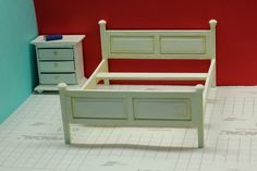 Learn how to make a miniature bed frame in this How To tutorial brought to you by The Mini Time Machine Museum of Miniatures. Click here for the instructions >>