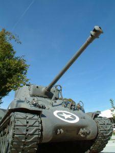 WW2 Sherman Tank, Normandy, Fr