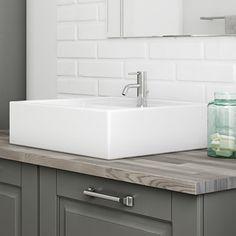 Ponte badkamer | Een nieuwe interpretatie van de klassieke badkamer door Kvik. De rol van het wasbakdesign is doorslaggevend in een mooie badkamer.