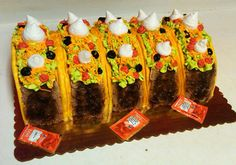 Polish Bakery & Hand-Crafted Cake Creations in Livonia, MI ::: GM Paris Bakery Pretty Cakes, Cute Cakes, Birthday Party Design, 2nd Birthday, Taco Cake, Paris Bakery, Dragons Love Tacos, Mexican Birthday, Taco Party