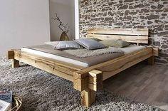 MassivholzBalkenbettBalkeneiche140x200cmJANGALI#101ZÜRICH in Möbel & Wohnen, Möbel, Betten & Wasserbetten   eBay