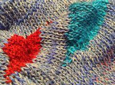 short row, knitting detail Crochet Art, Blanket, Knitting, Detail, Blankets, Tricot, Breien, Carpet, Knitting And Crocheting