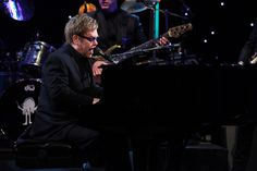 "The amazing Elton John performed his new single ""Home Again"""