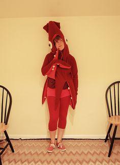 squid costume!