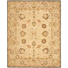 Safavieh Handmade Anatolia Ivory/ Beige Hand-spun Wool Rug | Overstock.com Shopping - The Best Deals on 7x9 - 10x14 Rugs