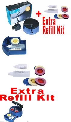 Disc Repair and Disc Cleaning: Cd Dvd Blu Ray Ps3 Xbox 360 Wii Disc Cleaner Repair Machine + Extra Refill Kit -> BUY IT NOW ONLY: $36.95 on eBay!