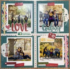 Love Today Layout by Latrice Murphy for Jillibean Soup - Scrapbook.com