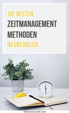 The best time management methods at a glance - Would you like to split up your working hours more effectively and work more efficiently? How To Make Eclairs, Good Time Management, Motivational Stories, Challenge S, All That Matters, At A Glance, Work Life Balance, Natural Make Up, You Working