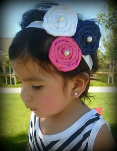 Baby girl headband infant headband toddler by KaryOlisCreations @Tami Arnold Arnold Arnold McCollum