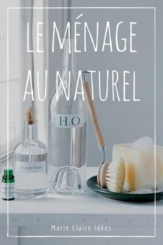 10 recipes for cleaning without chemicals – Marie Claire Idées Zero Waste Home, Budget Organization, Natural Lifestyle, Natural Cleaners, Going Natural, Cleaners Homemade, Natural Cleaning Products, Sustainable Living, Better Life