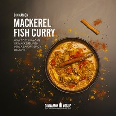 Take a simple of can mackerel fish and make it into a tasty delight infused with Ceylon Cinnamon, chill and tomato. Take a simple of can mackerel fish and make it into a tasty delight infused with Ceylon Cinnamon, chill and tomato. Canned Mackerel Recipes, Hallumi Recipes, Fish Recipes, Seafood Recipes, Cooking Recipes, Saurbraten Recipe, Napoleons Recipe, Mackerel Fish