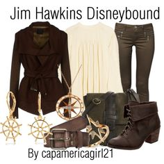 Jim Hawkins Disneybound by capamericagirl21 on Polyvore. Treasure Planet
