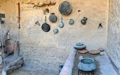Stage 2 - Restored Pompeii kitchens show how Romans cooked