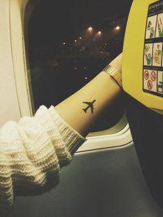 Plane tattoo