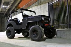 icon willys jeep - made to order