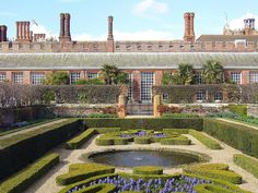 Hampton Court Palace - water garden by intrepid_luke, via Flickr