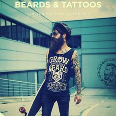 Beards & Tattoos - Stand out from the crowd