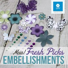 Creative memories Fresh Picks Embellishments