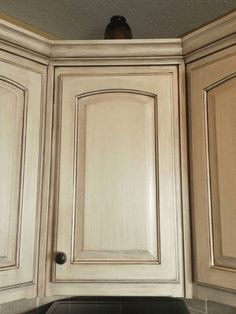 Kitchen Cabinets Glazed antique-white-kitchen-cabinets-after-glazing | home/living