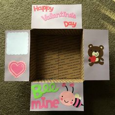 Valentine's Day Care Package Flaps by LoveFromHomePackages on Etsy