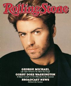 In very good vintage condition Rolling Stone magazine - January 28 1988 George Michael cover- featuring Wham/George Michael Rolling Stone Magazine Cover, Divas, Broadcast News, Andrew Ridgeley, Musica Pop, George Michael Wham, Michael Love, Drame, Journals