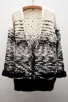 IRO KIARA CARDIGAN weave knit